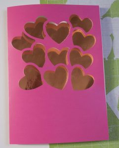 Heart Balloon Card Ready to Stick