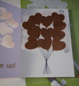 Balloon Card Inside