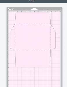 Cutting Mat 4: Envelope Exterior