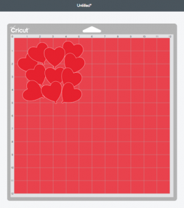 Cutting Mat 2: The Heart Balloons