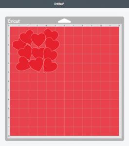 Cutting Mat 2: The Heart Balloons