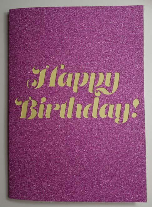 Birthday Pop Up Card