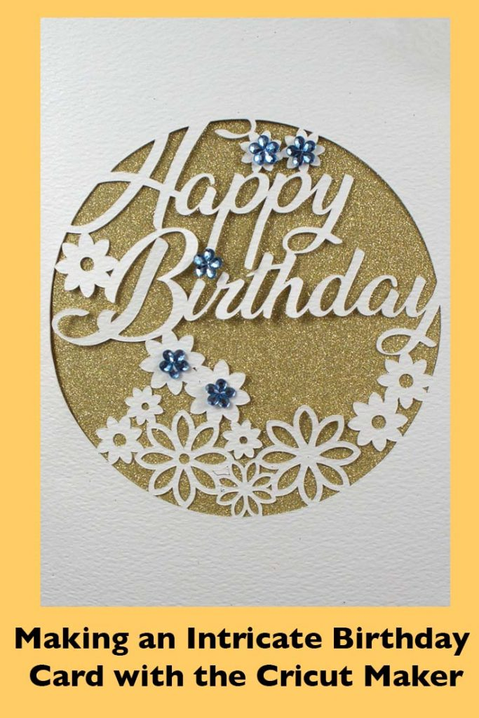 Intricate Birthday Card Pinterest