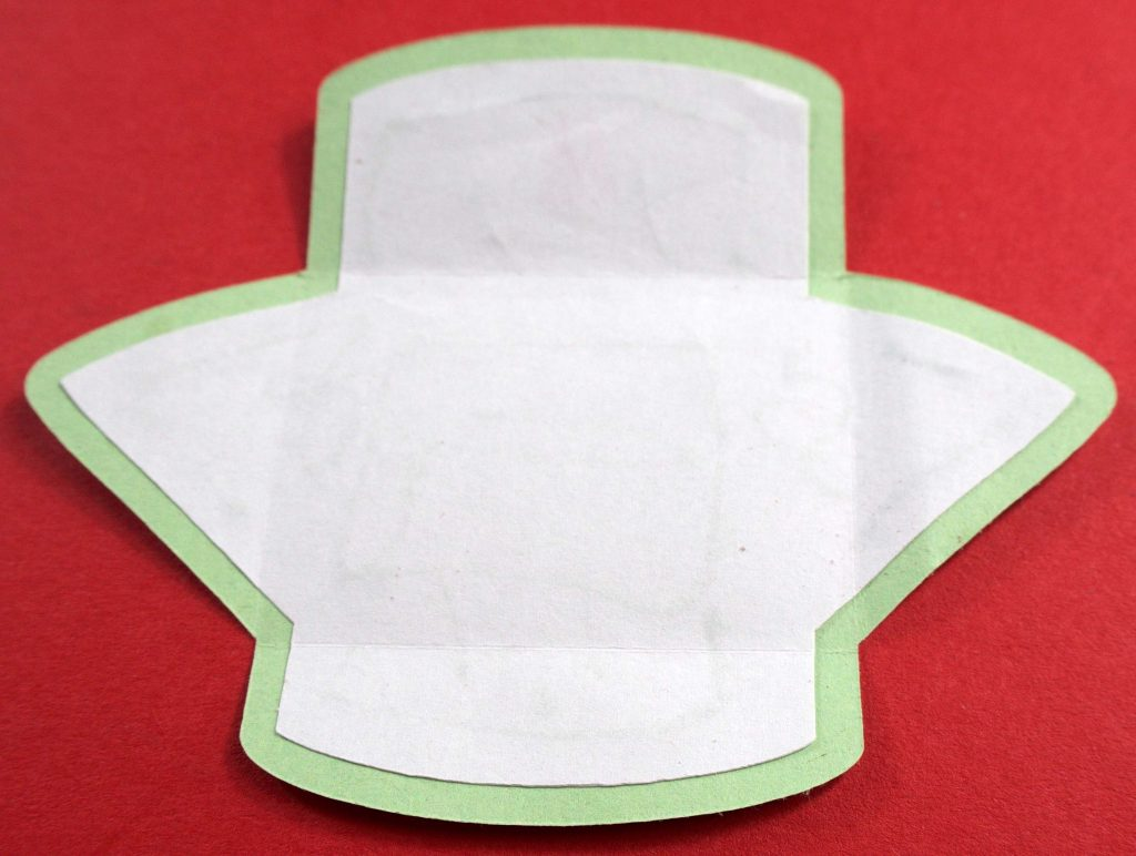 Tooth fairy envelope assembly