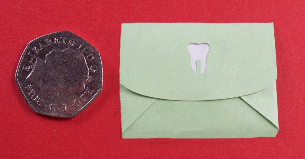 Tooth fairy sealed envelope