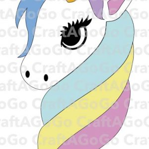 Watermarked Rainbow Unicorn