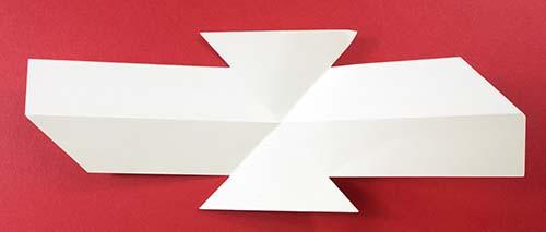 Pop-up twist card base piece for Cricut