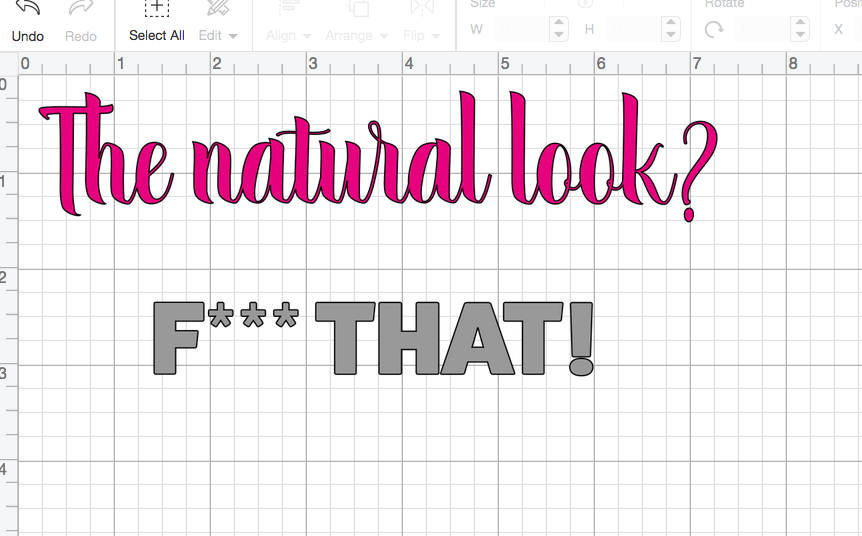 09a00d160d284 Making a Make-up Bag with a Slogan on the Cricut Maker FREE SVG DXF ...