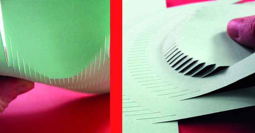 Bending a Pop-up Card