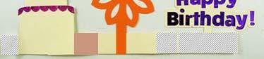 glue on cricut box card strip