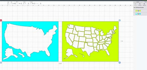 Imported USA Photo Map Files