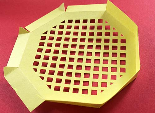 Making lid of octagonal box free Cricut File