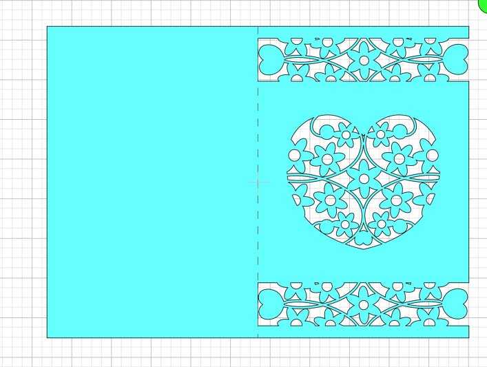 Creating a Score Line Wedding Card SVG