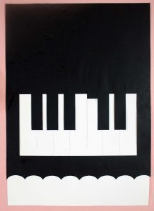 Putting Together Piano Card SVG