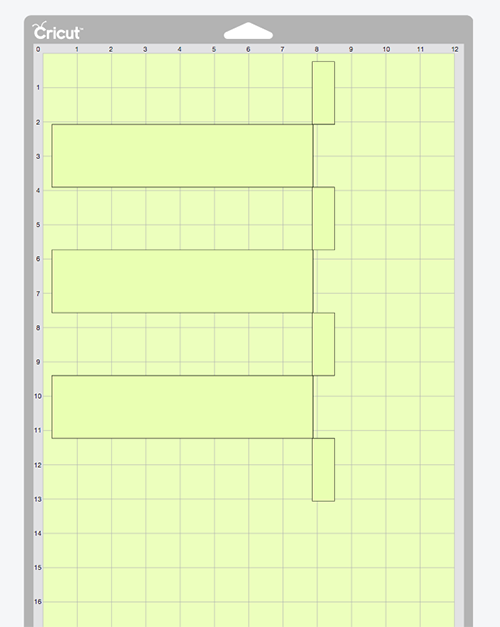 Printing grid for Cricut Chore Chart