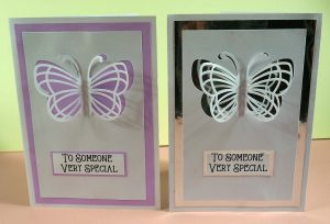 Butterfly Pop Up Card for Cricut