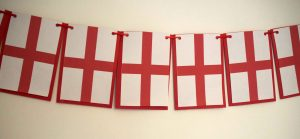Making England Bunting on Cricut