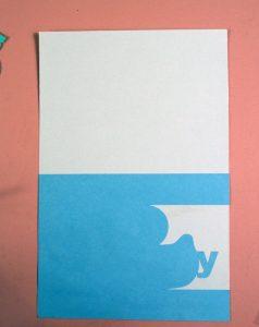 baby card piece svg