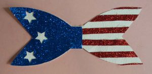 stars and stripes bow base