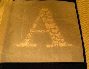 Teflon Sheet on Holographic Htv