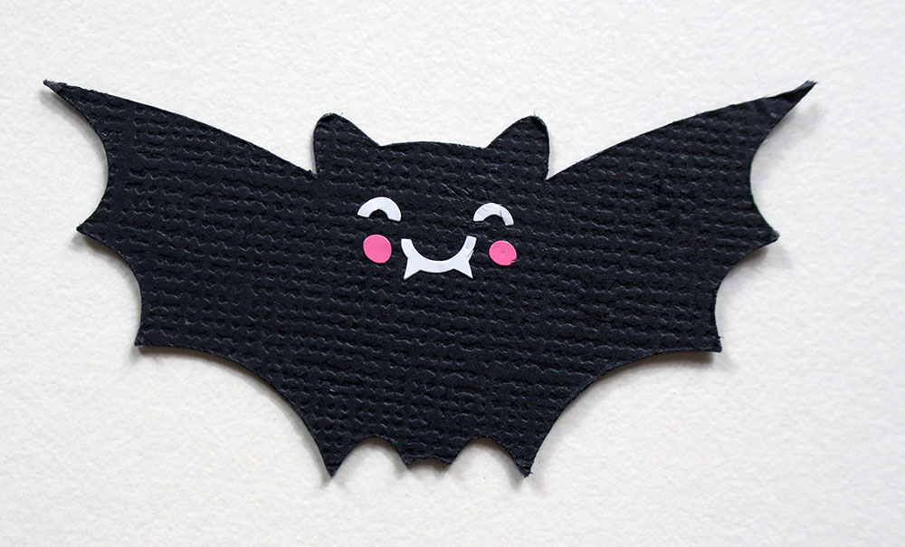paper halloween bat cut out cricut