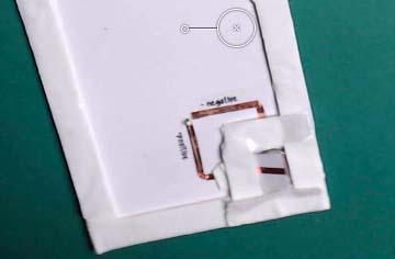 foam adhesive switch led cricut card