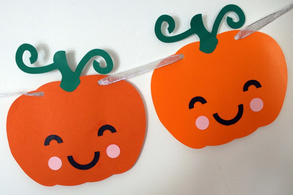 Pumpkins Bunting for Cricut or Silhouette