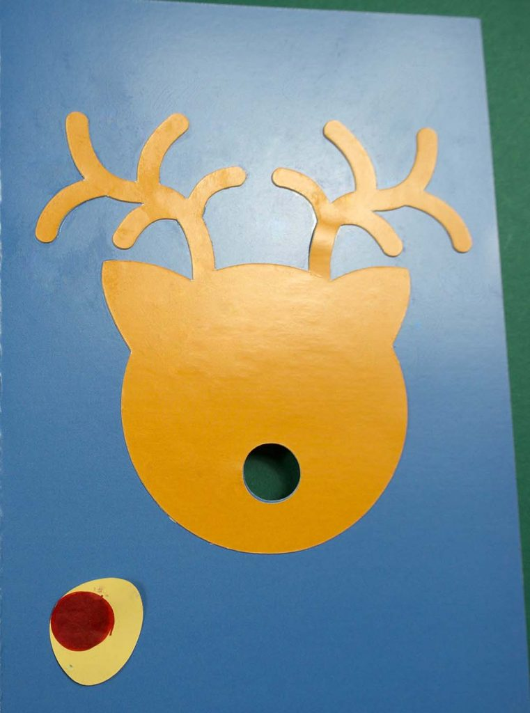 reindeer led card assembly cricut