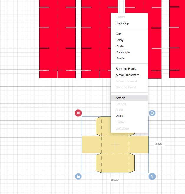 Advent Calendar Drawer Design Space