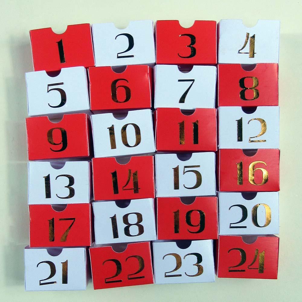 advent calendar drawers cricut