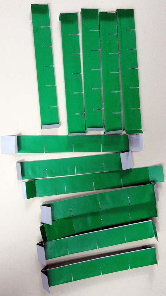 glued slats