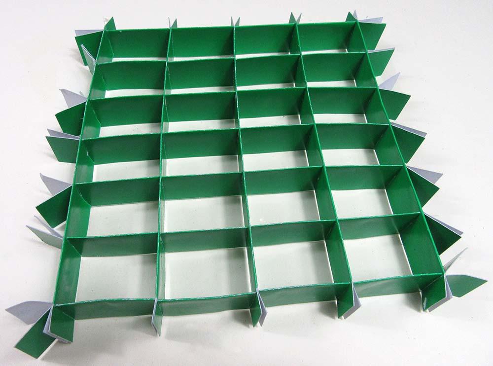 matrix of slats