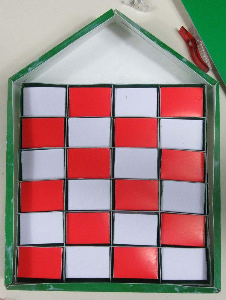 boxes in advent calendar cricut
