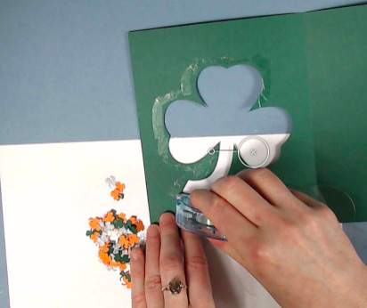 Glue Around Shamrock